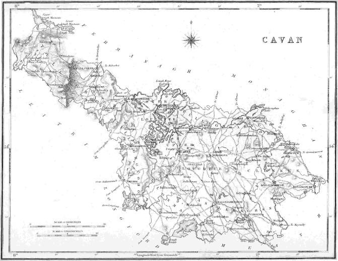Map Of Ireland Cavan.Maps