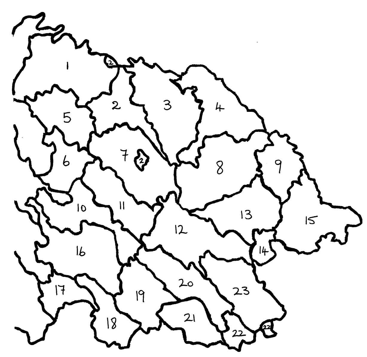 Civil parishes of east Cavan